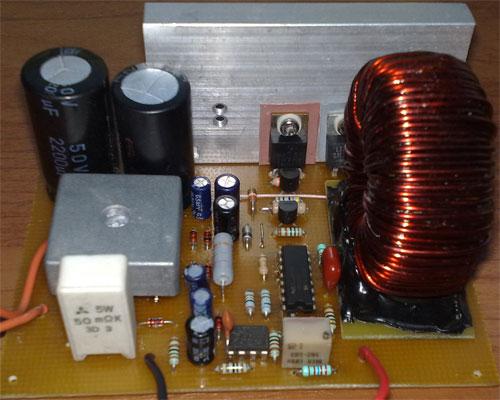 Импульсный блок питания схема с регулировкой фото 790