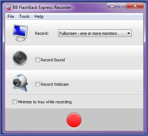 Программа для записи с экрана,BB FlashBack Express