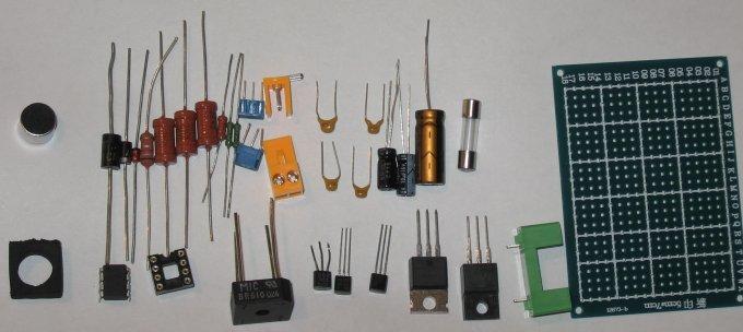 Акустический выключатель на микроконтроллере, детали