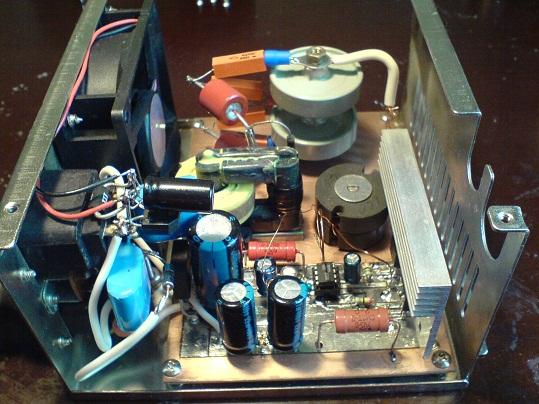 ионизатор из трансформатора строчной развертки
