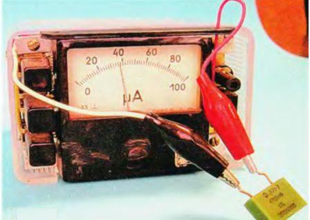 Измеритель емкости конденсаторов