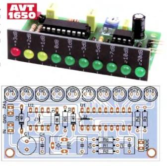 10 светодиодный индикатор уровня сигнала