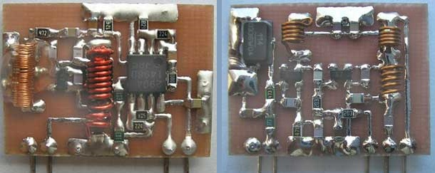 микро RF модули связи своими руками .RX.TX