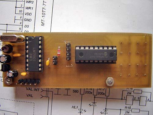 синтезатор частоты на 144-145 мгц