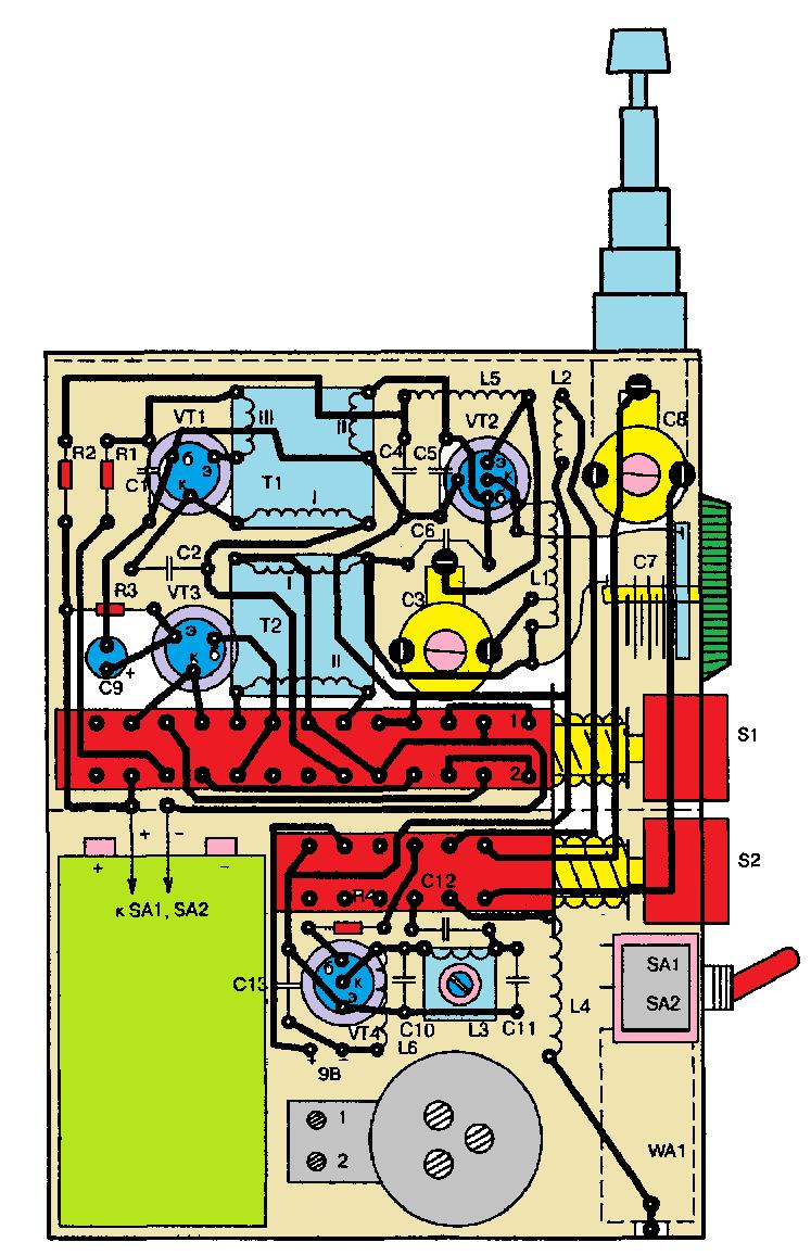 Радиостанции своими руками схемы 179