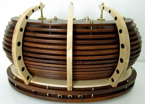 Lamina Nixie Clock от Zoltan Acs