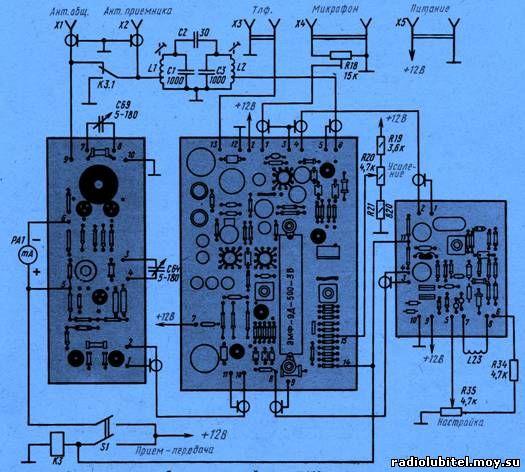 Радиоэлектроника, принципиальные схемы и статьи, самоделки ...